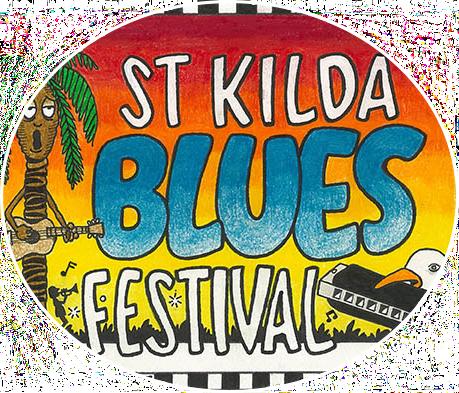 St Kilda Blues Festival Logo